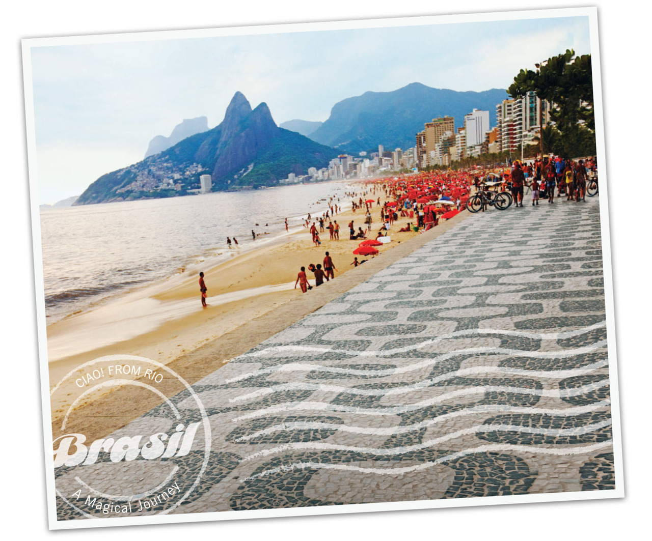 "Olá From Rio de Janeiro!  Population: 12 million +Average temp: 75 °FOfficial song: Cidade Maravilhosa (Marvelous City)Born in Rio? You're officially a ""Carioca""SCORE! The 2014 World Cup will be held in Rio and the 2016 Summer Olympics, too!  It's #1: Rio is the most visited city in the southern hemisphere"