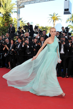 Diane Kruger in Giambattista Valli at 65th Annual Cannes Film Festival 2012