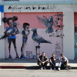 #herakut #case #maclaim #germany #birds #streetart #losangeles (Taken with instagram)