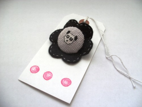 Panda Button Badge -Buy now from the Livfoxx Shop