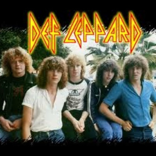 Def Leppard it's an older picture. 1980 (Taken with instagram)
