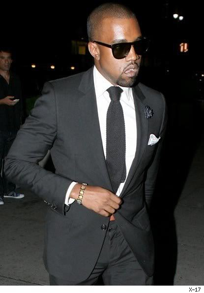 Kanye is the man, but I don't understand wearing sunglasses at night.