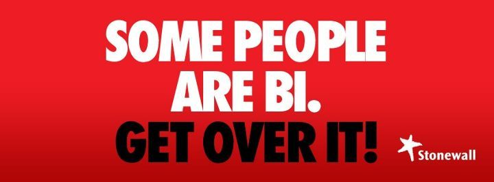 Some People Area Bi. Get Over It! official from Stonewall Well sing hallelujah! Some people Finally do actually respond to their constituents (hint, hint IDAHO), get over themselves and admit that bisexuals are actually part of the LGBTQ+ community! Only took what, 5+ years?  *snark* *snark* *snark*