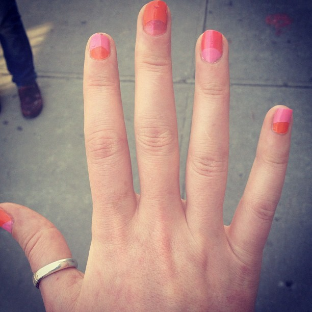 Nail partyyy (Taken with instagram)