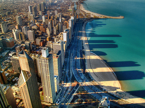 ingenuities:  Downtown Chicago (by Premshree Pillai)