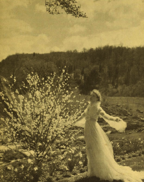 "kylarose:  Lillian Gish ""Camille"" by Steichen From the book, Life and Lillian Gish by Albert Bigelow Paine"