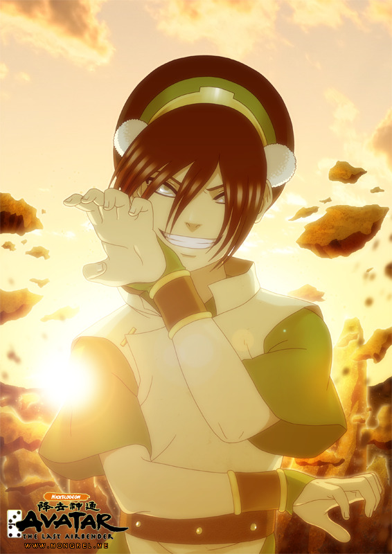 Toph Bei Fong by Mongrel