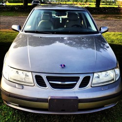 I don't hate it :) #newcar #saab  (Taken with instagram)