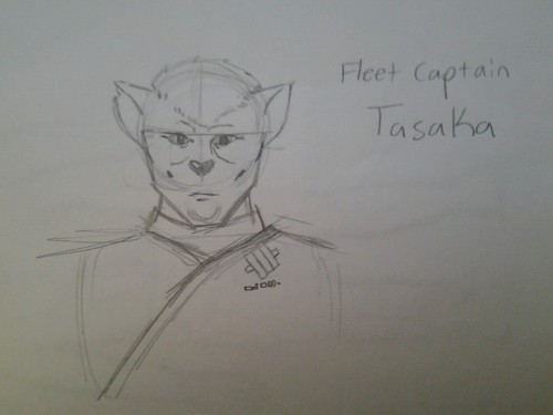 Fleet Captain Tasaka, whose desire to see his daughter returned home forces him to take steps against the orders of his government