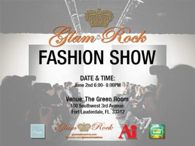 journaloffashion:  Come out and support Glam Rock Fashion Show!!!!!!!!!