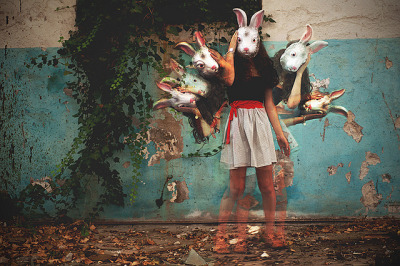 d4rk-twistedfantasy:  The cursed rabbit. (More inside) by ardemonia . on Flickr.