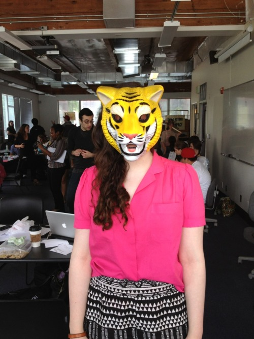 Occasionally, I am a tiger.