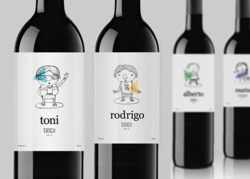 (via Student Spotlight : Generation Wines - The Dieline - The #1 Package Design Website -)