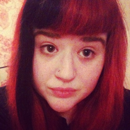 Black in my fringe, woo! <3