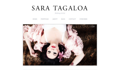 Sara Tagaloa is a Southern California based makeup artist that specializes in Beauty and Special Effects. She needed something that showcased her work above all else. She wanted something beautiful and elegant, classic in it's beauty, with clean lines, and ease of use. Wordpress was installed and custom CSS was called upon. We definitely nailed it. Visit her site at www.saratagaloa.com and hire her!