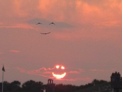 nature smiles back