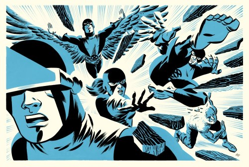 The actual First X-Men. Thank you. The Uncanny X-Men by Michael Cho
