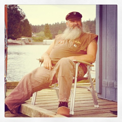 Meet Captain John from our upcoming show #DiamondDivers. #sickbeard (Taken with instagram)