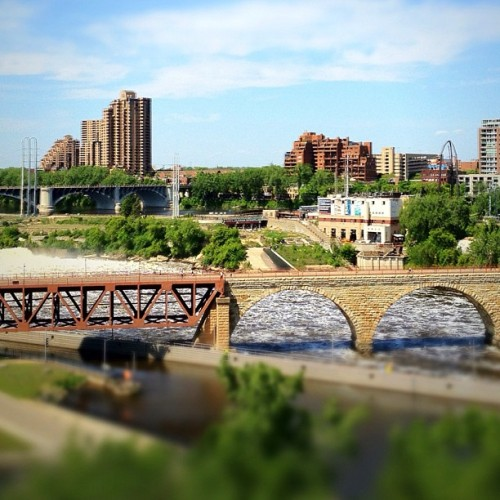 Stone Arch Bridge (Taken with instagram)