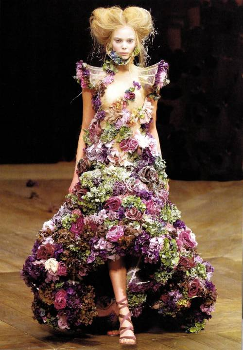 modcloth:  An incredible creation by Alexander McQueen.