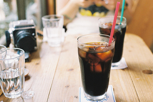 palides:  iced coffee (by nanao.)