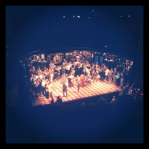 "Broadway Stage of ""Once"" :) !!!! (Taken with instagram)"