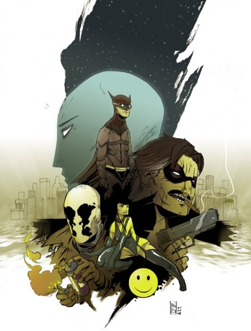 xombiedirge:  Watchmen by Mathieu Bablet / Blog