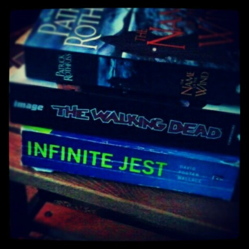 summer reading books THINK I CAN DO IT?? ME NEITHER BUT I WILL (Taken with instagram)