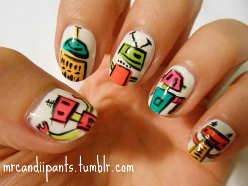 little robot nails