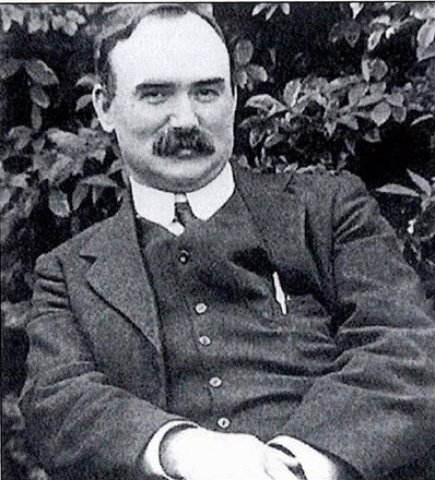 James Connolly (Irish: Séamas Ó Conghaile, 5 June 1868 – 12 May 1916) was an Irish republican and socialist leader. He was born in the Cowgate area of Edinburgh, Scotland, to Irish immigrant parents and spoke with a Scottish accent throughout his life.  He left school for working life at the age of 11, but became one of the leading Marxist theorists of his day. He also took a role in Scottish and American politics. He was executed by a British firing squad because of his leadership role in the Easter Rising of 1916.