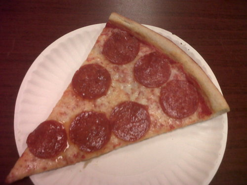 Pepperoni slice.