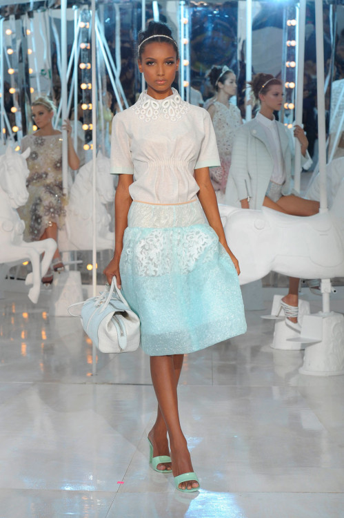 fashioninquality:    Jasmine Tookes at Louis Vuitton Spring/Summer 2012
