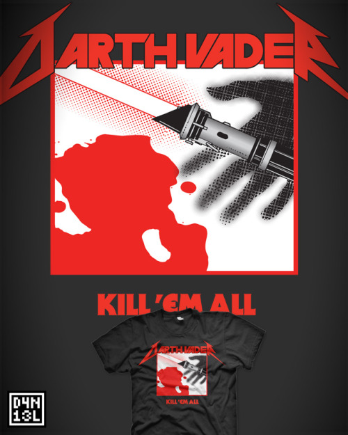 """Kill'em *heavy breathing* all"" by D4N13L Available now on RedBubble!"