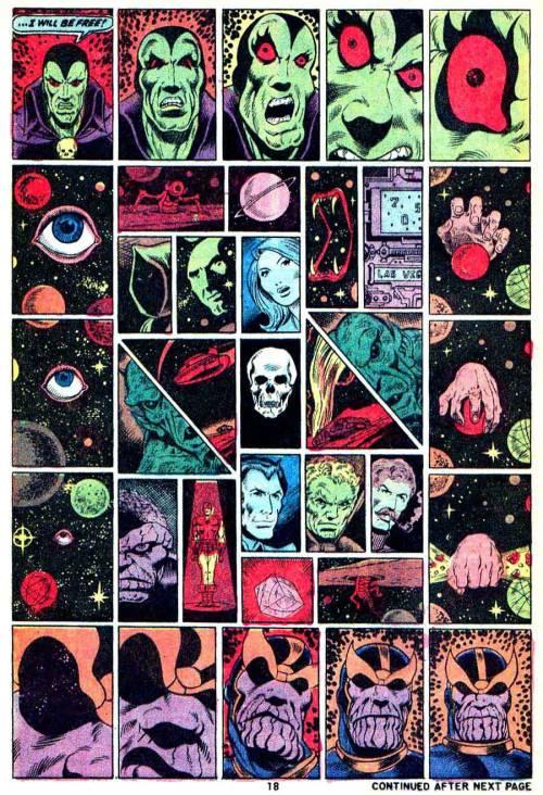 Jim Starlin Thanos Drax