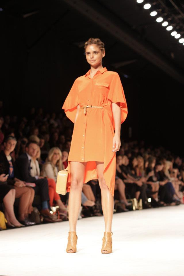 Oroton S/S 2013 Collection - Mercedes-Benz Fashion Week Australia Photo: Brigitta Quantock for Fashionisto Diaries