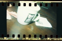 The coffee we had was sweeter as it was sipped on a time well spent. Holga 120N by Melancholik