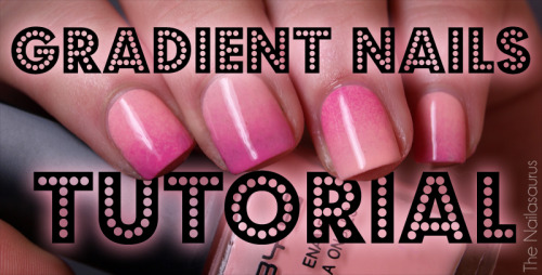 fuckyeahnailart:  (via The Nailasaurus: Gradient Nails Picture Tutorial) Click through for a great tutorial!