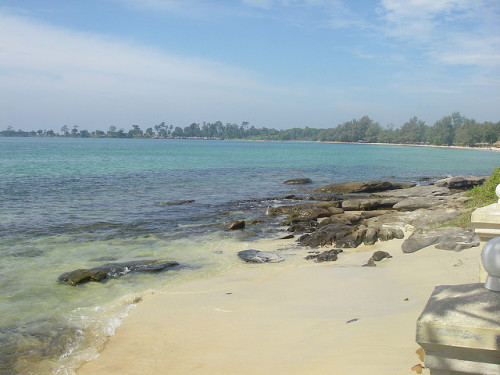 Cambodian Beach by ktmay127 on Flickr.
