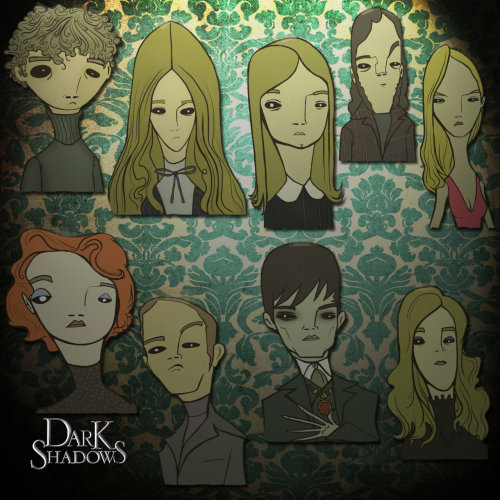 Dark Shadows comic style by ~tinyBROWNdog