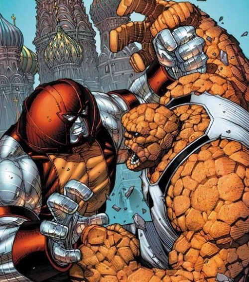 Colossus vs. The Thing