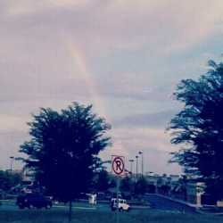 Rainbows make an ordinary day look magical(:
