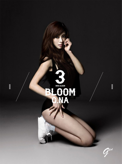 "G.NA's Jacket Cover Photo for Third Mini-Album ""Bloom"" - Kineda 