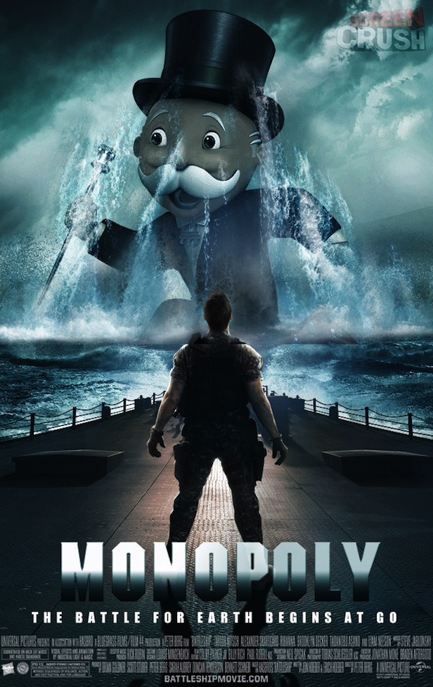 The prequel to Battleship. Fucking Hollywood.