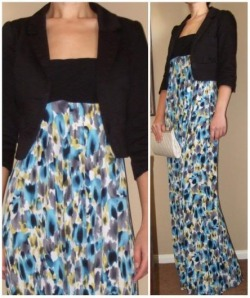 Rhapsody Watercolor Print Strapless Maxi Dress Please click here to shop. SOLD