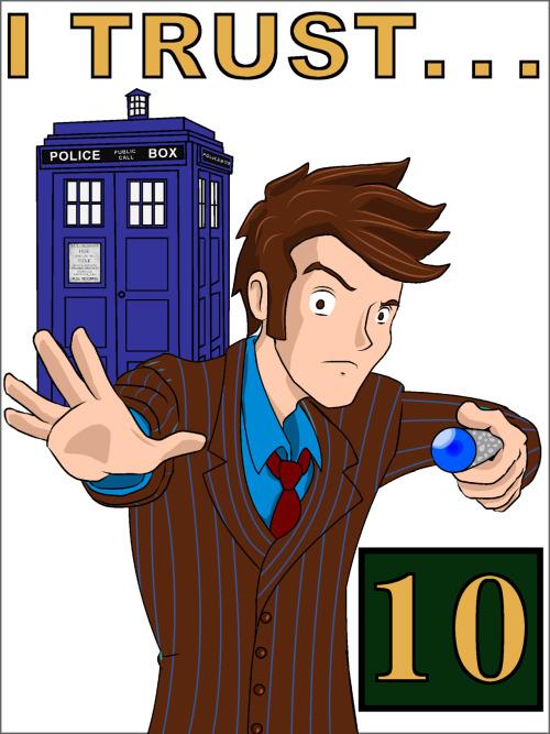 Doctor Who (#10)  Created & submitted by Jason Knopp  devaintART || Tumblr