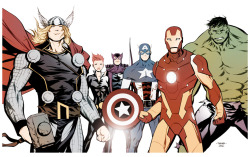 mtakara:  The Avengers.   Check out my other blogs… Sexy.Beautiful.Women  My Stuff!! Dammit!!   Anime & Comic Art