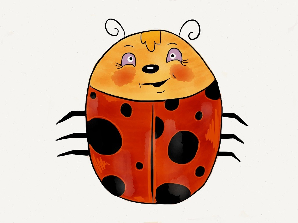 "Little Lady Ladybug Lula: It was a long day and a late night, so I thought I could use a little luck for tomorrow and along came this little lady. I found out some pretty interesting facts & lore about lady bugs, too.  • By the end of its three-to-six-week life, a ladybug may eat some 5,000 aphids. • In Sweden, if a ladybug lands on a young maiden's hand, she will soon be getting married. • The name ""ladybug"" was coined by European farmers who prayed to the Virgin Mary when pests began eating their crops. After ladybugs came and wiped out the invading insects, the farmers named them ""beetle of Our Lady."" This eventually was shortened to ""lady beetle"" and ""ladybug."" • Ladybugs are the official state insect of Delaware, Massachusetts, New Hampshire, Ohio, and Tennessee.  You can find out more about lady bugs, just like I did by visiting the following websites. The San Diego Zoo, National Geographic, & The Ladybug Creature Feature at The National Geographic Kids Site (which I personally found to be the best out of all of them.) Made with Paper"