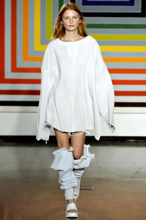 what-do-i-wear:  Marques Almeida S/S '12