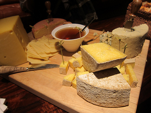 cheese plate at don q comp (by theminty)