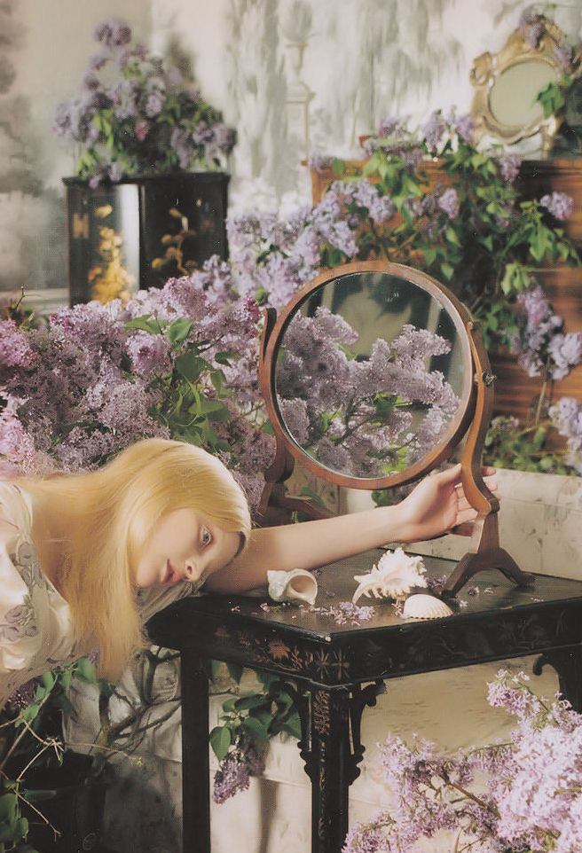 Guinevere van Seenus by Tim Walker for Uk Vogue, August 2006